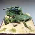 YMT-05 ジオン軍モビルタンク ヒルドルブ 右から